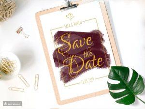 """Print """"Save the Date"""" Hochzeitskarten"""