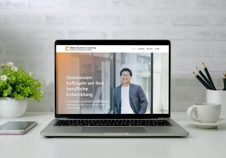 Website Neuerstellung Businesscoaching