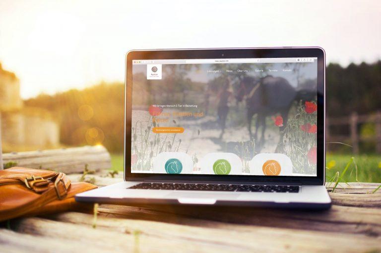 WordPress Webdesign Apollon Reiterhof Pfalz