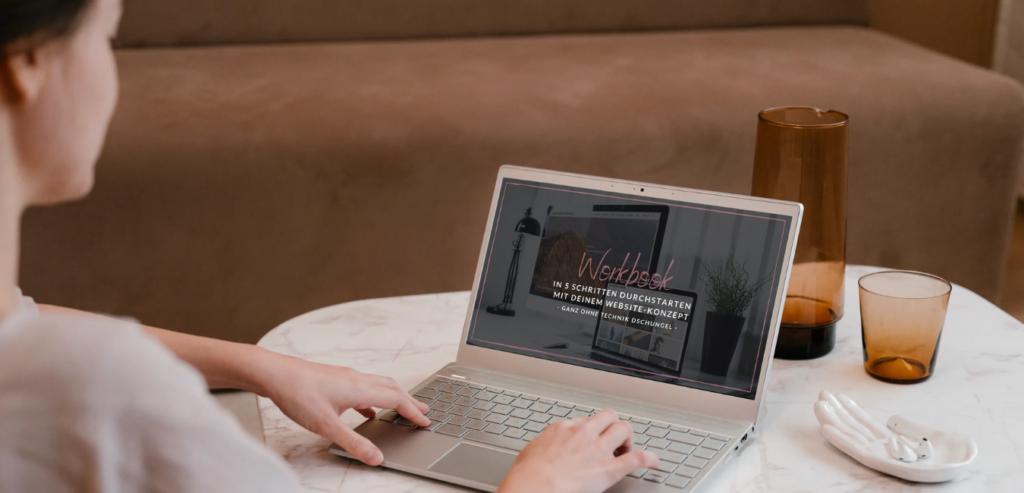 Workbook für Website Konzept