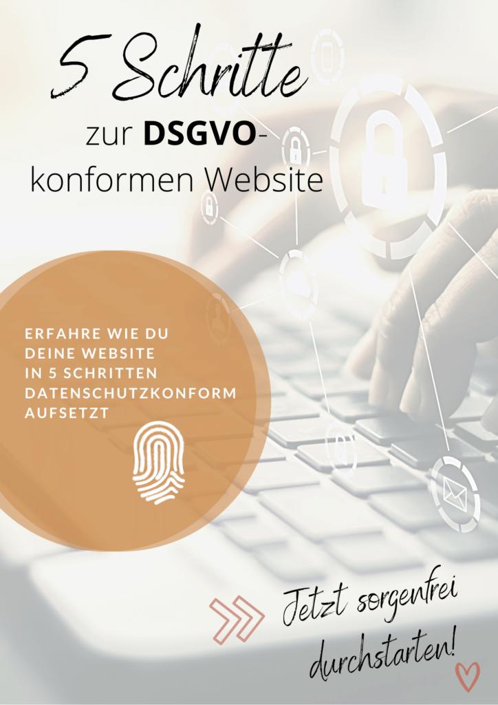 5 Schritte zur DSGVO konformen Website Pixxelhouse Shop